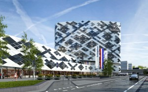 Hilton Schiphol - Facade - daylight - 22032012